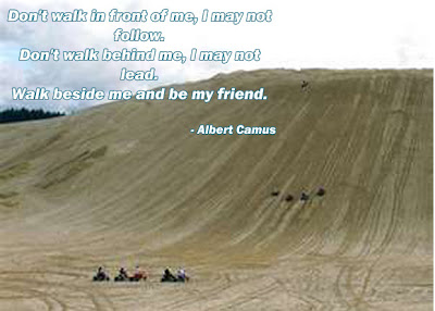 Worthy Friendship Quotes regarding friends walk with me