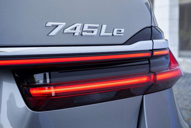 BMW 745Le M Sport híbrido plug-in chega por R$ 500 mil