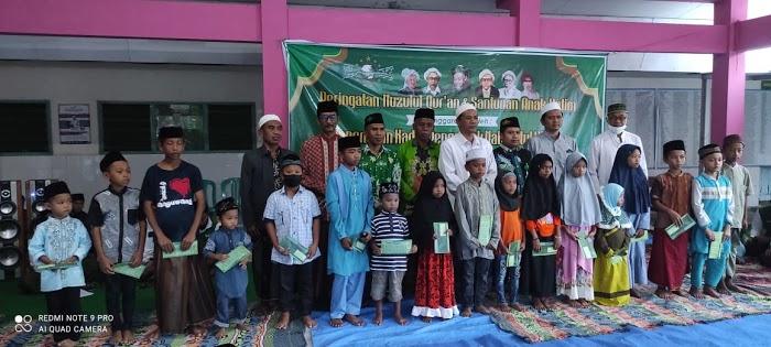 Kolaborasi MWC NU, Banom dan Kader dalam Memperingati Nuzulul Qur'an