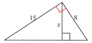 Tentukan nilai x dari gambar di bawah ini www.jawabanbukupaket.com