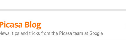 Picasa Blog:  Moving on from Picasa