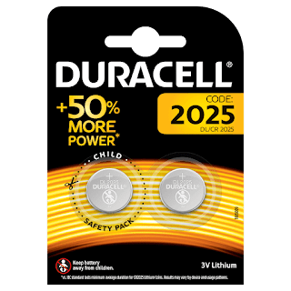 batterie 2025 bottone duracell 2 pz more power