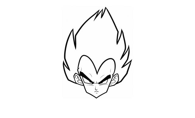 vegeta modo normal