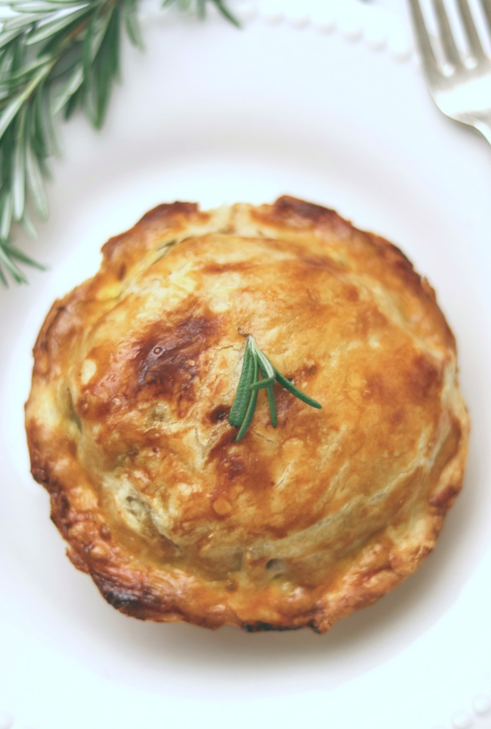 Mini Beef and Veggie Personal Pot Pie Recipe