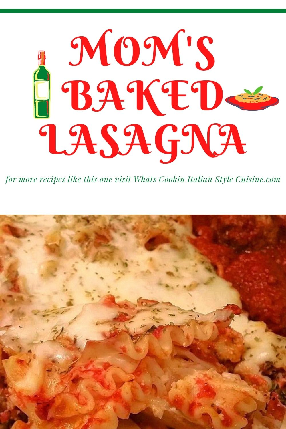this is a pin for later how to make Italian authentic lasagna