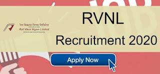 RVNL Sarkari Naukri Railway Recruitment 2020 Apply For Group General Manager/General Manager posts