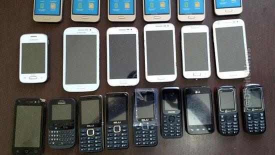 policiais penais denunciados facilitarem celulares presidio