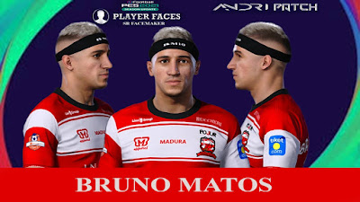 PES 2021 Faces Bruno Matos by SR