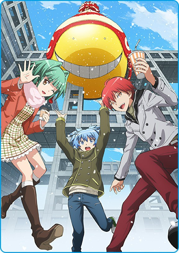 Assassination Classroom |22/22| |Castellano| |Temporada 1| |Mega|