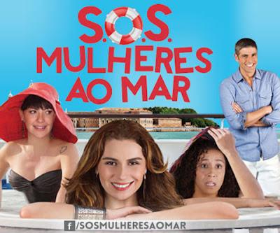 Cartaz do filme SOS Mulheres ao Mar
