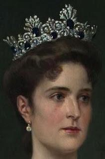 empress alexandra feodorovna russia kochli sapphire tiara