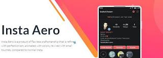 Instagram Aeroo Mod Android APK