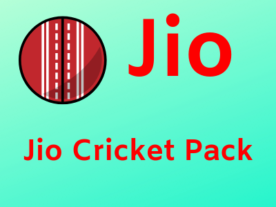 Jio Cricket Pack