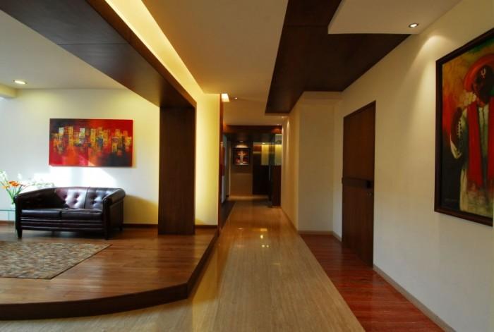 Hogares frescos dise o interior de fabuloso duplex en for Diseno de interiores hogares frescos