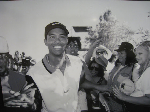 Tiger Woods in 1996, photo by Dan Perry