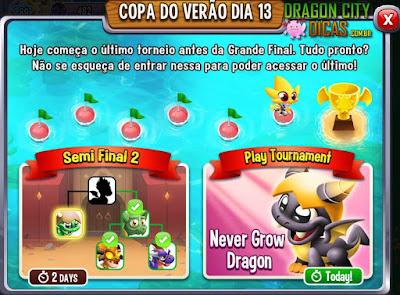 Ganhe o Dragão Eterna Criança - Torneio!