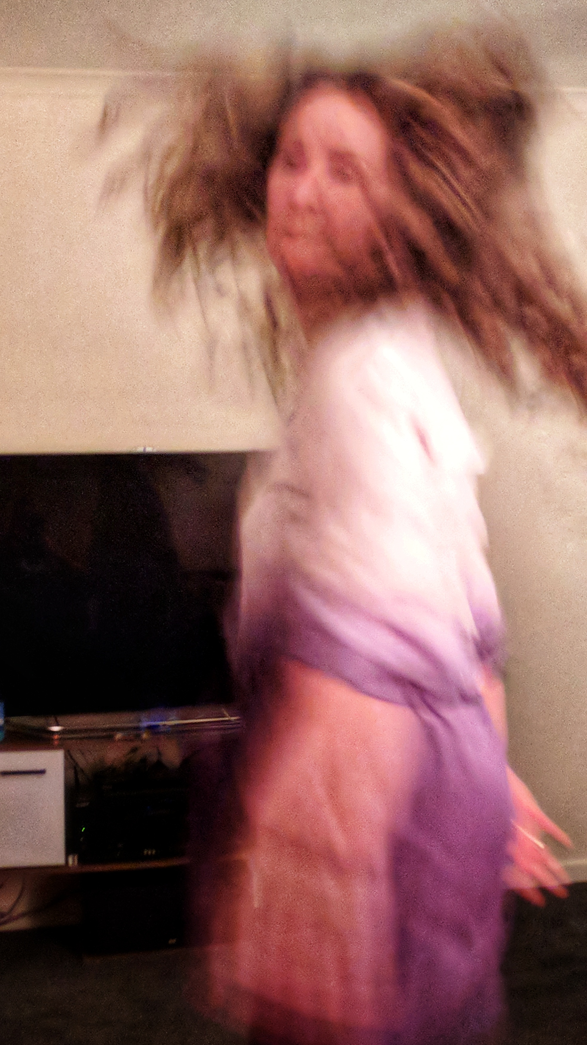 House party dancing woman