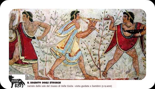 Il segreto degli Etruschi narrato dalle sale del Museo Etrusco di Villa Giulia x Bambini