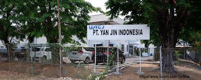 Iklan Loker Terbaru PT Yan Jin Indonesia Bagian Operator Produksi