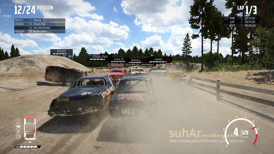 Download Wreckfest PC Game Full DLCs Terbaru