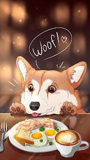 Breakfast Animal Mobile HD Wallpaper