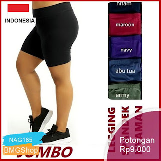 NAG185 Celana Leging Pendek Jumbo Short Bb 55 90kg Bmgshop