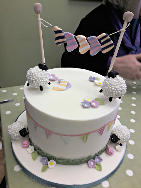 Cake made for Woolaballoo by Sugar and Sponge Cake Company