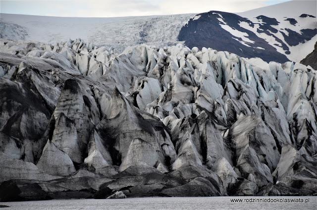 Islandia wyspa lodu i ognia- Oko w oko z lodowcem i plaża Stokksnes