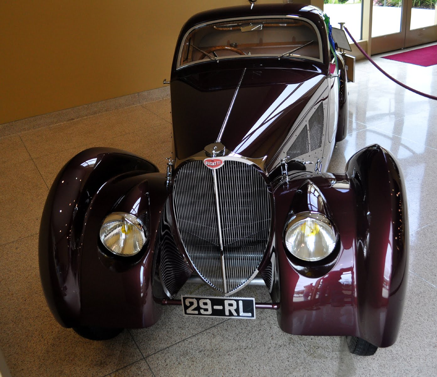 Just A Car Guy: 1931 Bugatti Type 51 Dubos Coupe, Raced In