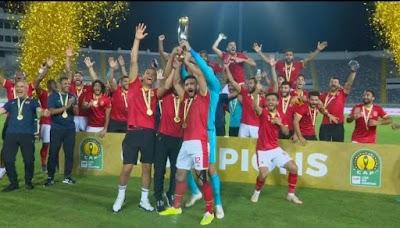 موتسيبي يسلم الشناوي كأس إفريقيا
