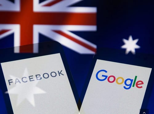 Australia amends laws to get Google and Facebook to pay