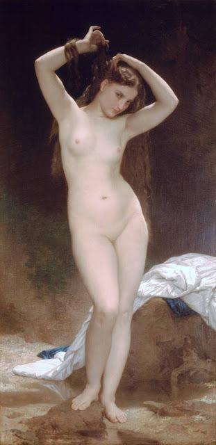 Адольф Вильям Бугро - Купальщица (1870)