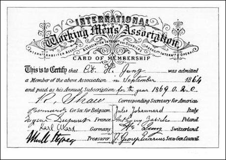 The International Workingmen's Association, 1866