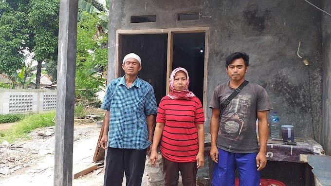 Satgas TMMD Perbaiki Rumah Nyaris Ambruk Milik Uci Sanusi