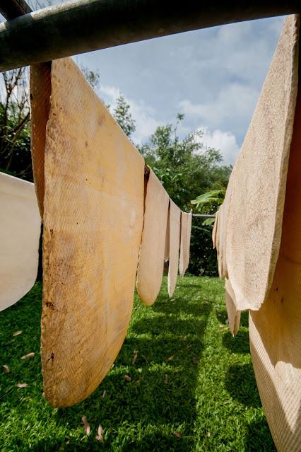 Процесс производства резины на юге Таиланда
