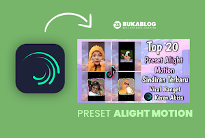 20 preset alight motion jedag jedug terbaru lagu viral tiktok kata-kata Sindiran
