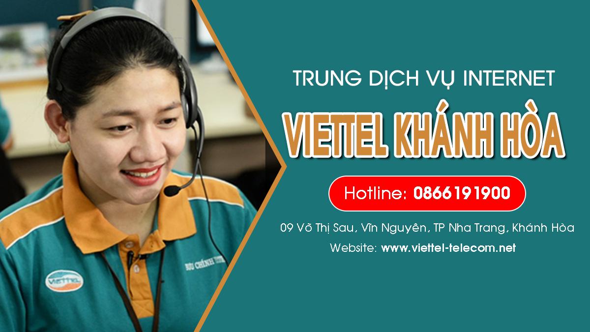Viettel Khánh Hòa - Đơn vị lắp mạng Internet và Truyền hình ViettelTV