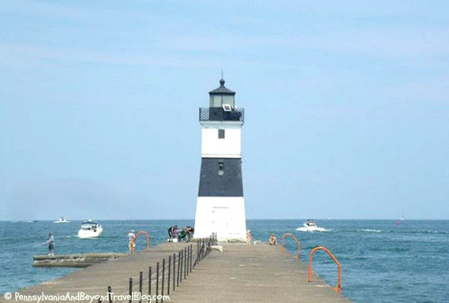 North Pierhead Lighthouse on Presque Isle