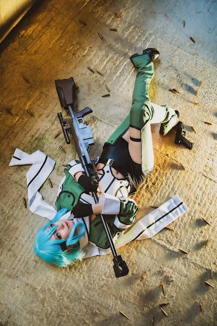 Matsuna cosplayer cantik sinon sao