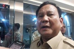 Ingin Damai soal Laut Natuna, Prabowo: China Negara Sahabat