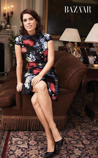 Princess Eugenie erdem dress