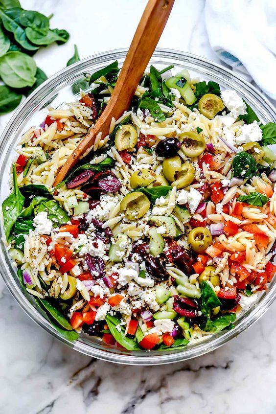 Amazing Mediterranean Orzo Salad