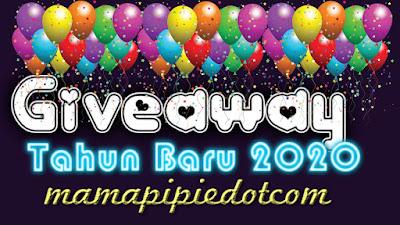 Giveaway Tahun Baru 2020 Mamapipiedotcom, blogger giveaway, blog, hadiah,