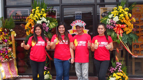 Dexter's Pizza Bacolod pizza restaurant