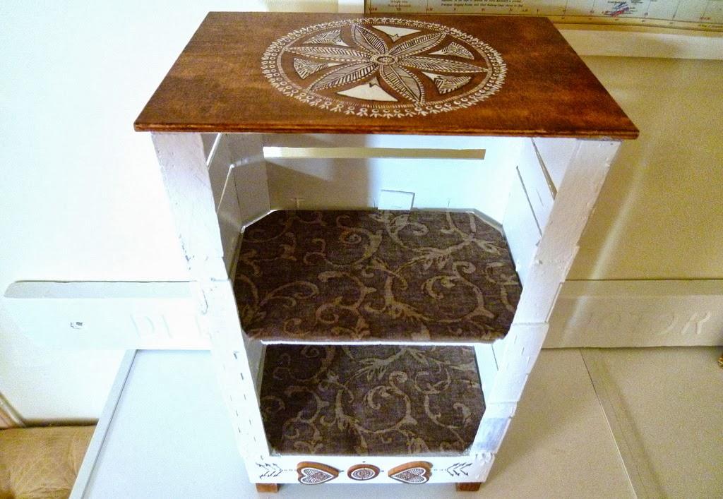 teodeco clementines box shelf mandarinen kisten regal. Black Bedroom Furniture Sets. Home Design Ideas