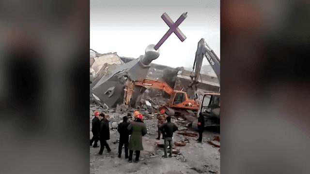 Pemerintah China Dilaporkan Bongkar Masjid dan Buldoser Gereja
