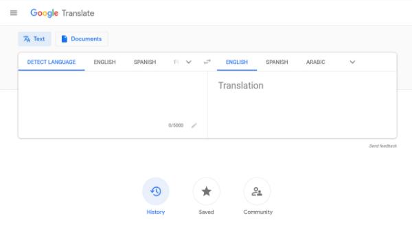 جوجل تطلق تحديث جديد لخدمة Google Translate
