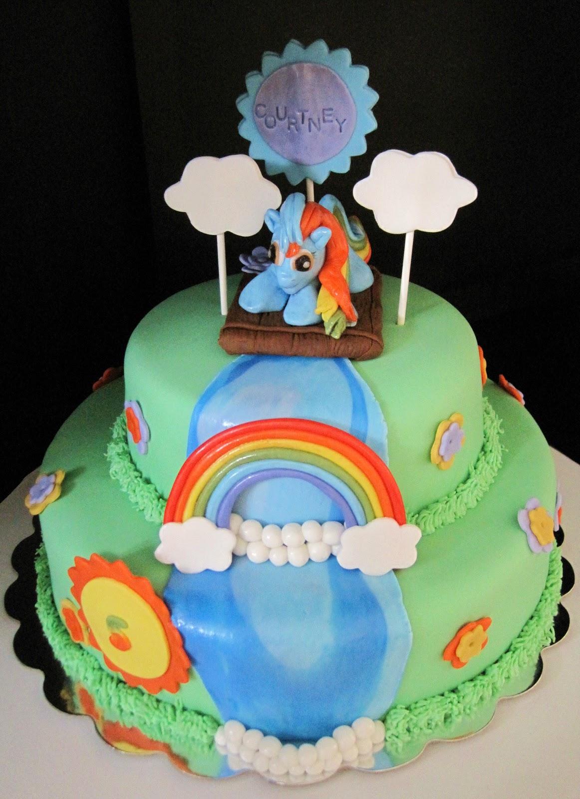 creative cakeslynn my little pony cake