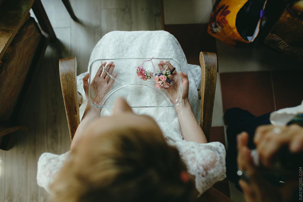 matu dekors, kāzu dekors, kāzu frizūra