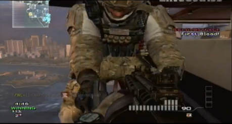 MW3 Infected Trolling: Overwatch Knife Vs Striker (Video